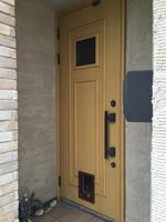 玄関ペットドア