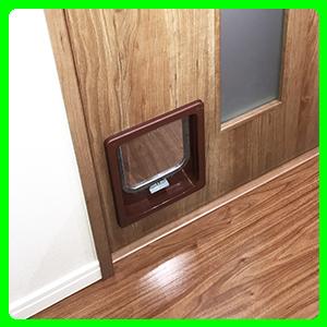 ドア用中型猫ドア